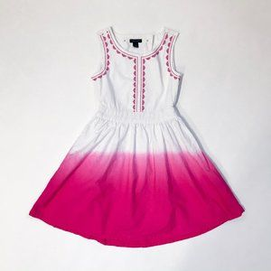 Tommy Hilfiger White and Pink Sundress